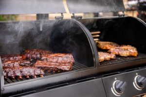 best gas charcoal smoker grills combo