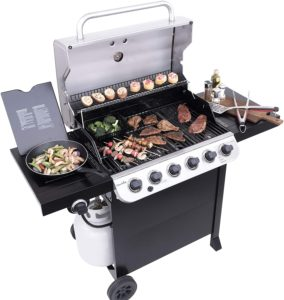 best 6 burner gas grill under 500