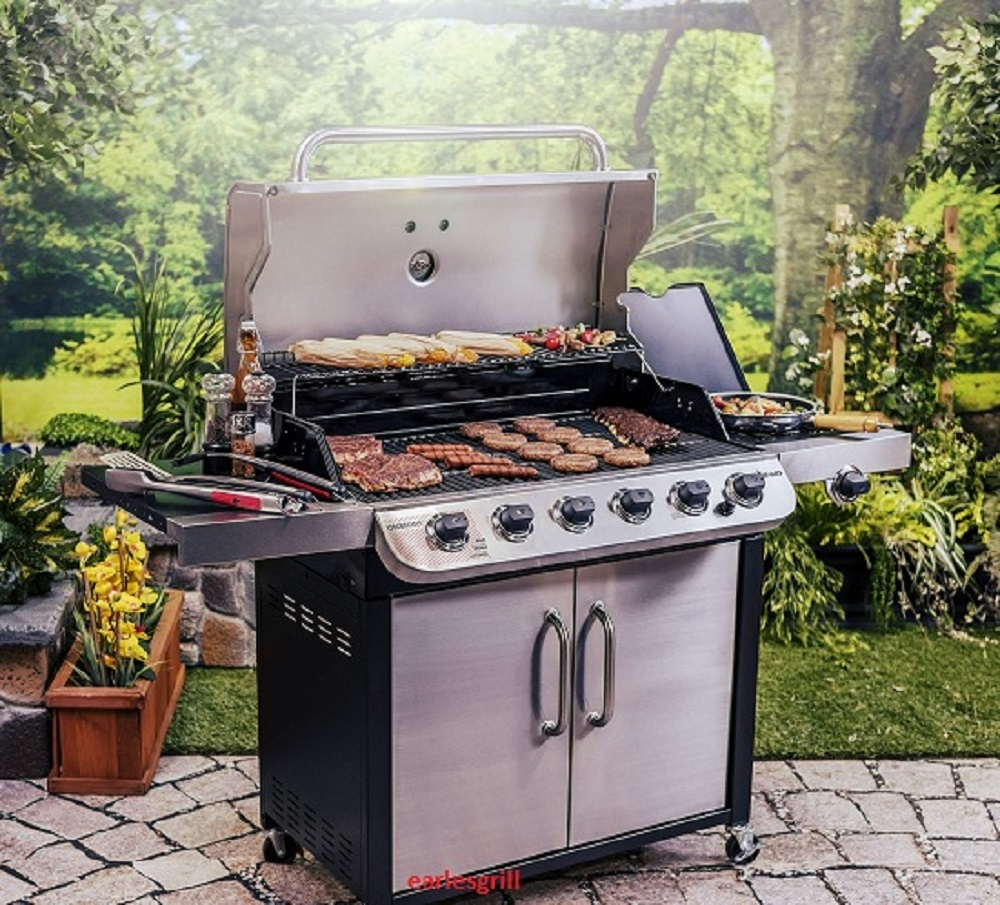 best 6 burner gas grill