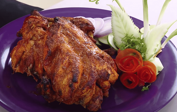 how to grill chicken in convection oven
